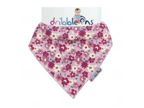 Dribble Ons Designer Floral Ditsy