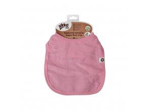 Bambusový bryndáček XKKO BMB - Baby Pink