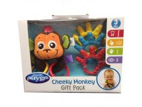 Playgro - Dárkový set Opička