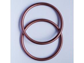 Ring Sling kroužky hnědé Velikost RS: M - 1 ks