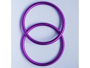 Ring Sling kroužky fialové Velikost RS: L - pár