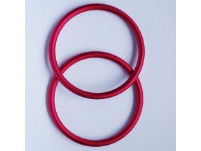Ring Sling kroužky červené Velikost RS: L - pár