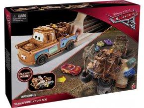 CARS transformující se Burák Mater