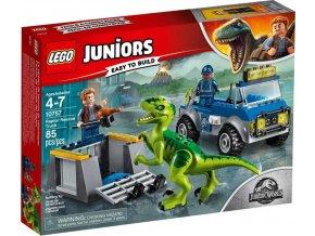 LEGO Juniors 10757 Vozidlo pro záchranu Raptora