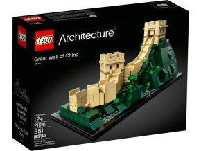 LEGO Architekt 21041 Velká čínská zeď