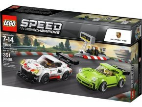 LEGO Speed Champions 75888 Porsche 911 RSR a 911 Turbo 3,0