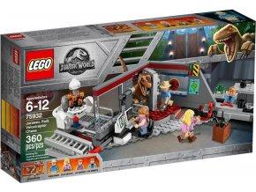 LEGO Jurassic World 75932 Jurský park: hon na Velociraptora