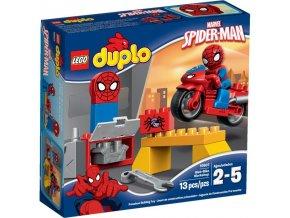 Lego Duplo 10607 Spidermanova dilna s motorkou