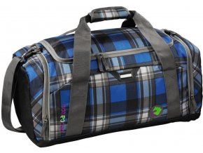 HAMA Sportovní taška SporterPorter Large Sports Bag, Scottish Check
