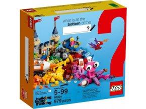 LEGO Classic 10404 Dno oceánu, 579 kostek (poškozený obal)