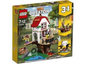 LEGO Creator 31078 Poklad v domku na stromě