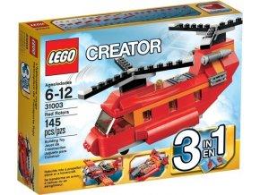 LEGO Creator 31003 Červený vrtulník (Poškozený obal)