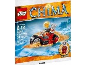 LEGO CHIMA 30265 Worrizova ohnivá motorka