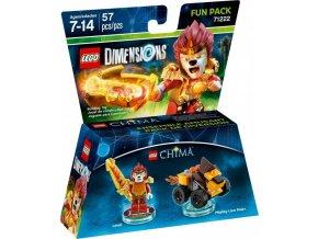 LEGO Dimensions 71222 Fun Pack: Chima Laval