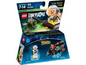 LEGO Dimensions 71230 Fun Pack: Doktor Brown