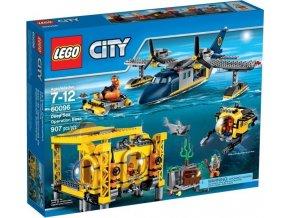 LEGO CITY 60096 Základna pro hlubinný mořský výzkum