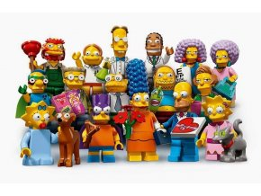 LEGO 71009 Kolekce 16 minifigurek série The Simpsons 2