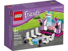 LEGO Friends 40112 Módní molo, stojan na mobil