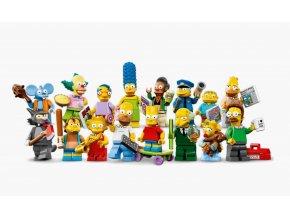 LEGO 71005 Kolekce 16 minifigurek série The Simpsons