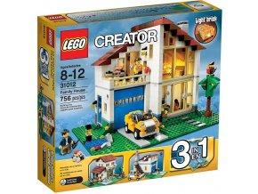 LEGO Creator 31012 Rodinný domek 3 v 1
