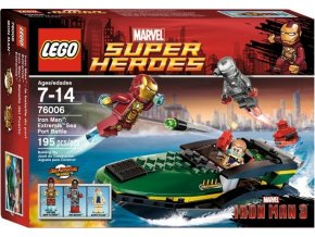 LEGO Super Heroes 76006 Iron Man: Bitva v přístavu, Rarita!