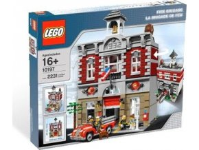 LEGO 10197 Fire Brigade, Hasičská zbrojnice