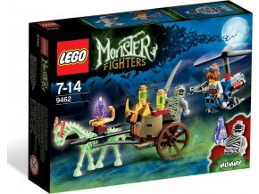 LEGO Monster Fighters 9462 Mumie, Rarita!