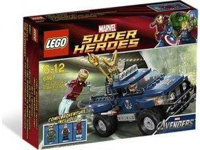 LEGO Super Heroes 6867 Lokiho únik s kosmickou krychlí