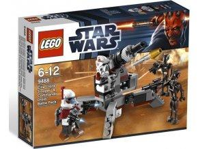 LEGO Star Wars 9488 Bojová jednotka vojáků Elite Clone a oddílu droidů