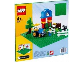 LEGO 626 Střední podložka na stavění zelená