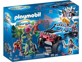 PLAYMOBIL® 9407 Monster truck s Alexem a Rock Brock