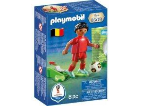PLAYMOBIL® 9509 Fotbalista Belgie