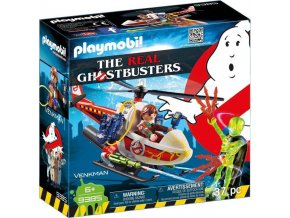 PLAYMOBIL® 9385 The Real Ghostbusters Venkman s helikoptérou