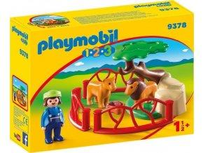 PLAYMOBIL® 9378 Ohrada se lvi (1.2.3.)