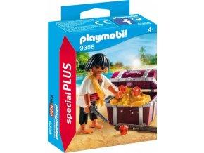 PLAYMOBIL® 9358 Pirát a poklad