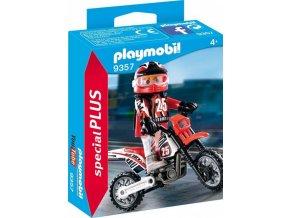PLAYMOBIL® 9357 Závodník na motorce