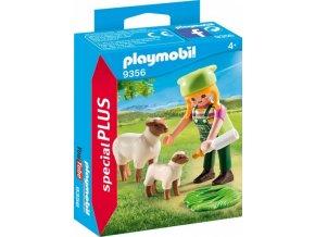 PLAYMOBIL® 9356 Farmářka s ovcemi