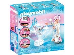 PLAYMOBIL® 9351 Playmogram 3D Ledová královna se sovičkou