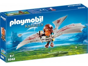PLAYMOBIL® 9342 Trpaslík na létajícím stroji