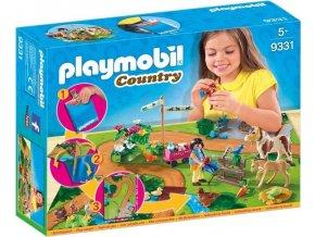PLAYMOBIL® 9331 Herní mapa Koně - poškozený obal.
