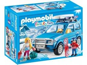 PLAYMOBIL® 9281 SUV Auto se střešním boxem