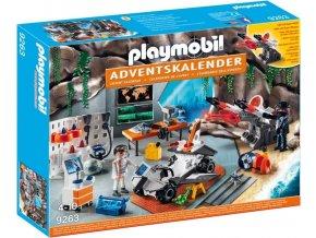 PLAYMOBIL 9263 Adventní kalendář Top Agents