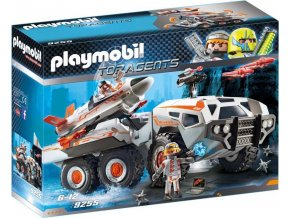 PLAYMOBIL® 9255 Spy Team bojový vůz