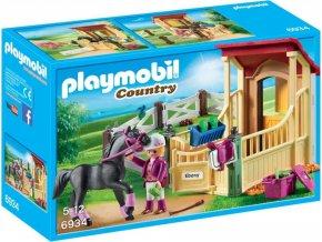 PLAYMOBIL® 6934 Box pro arabského koně Ebony