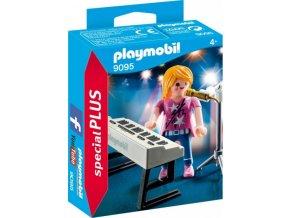 PLAYMOBIL® 9095 Zpěvačka s klávesami