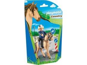 PLAYMOBIL® 9260 Policista na koni