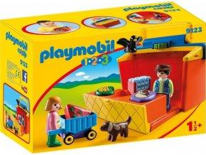 PLAYMOBIL® 9123 Prodejní stánek (1.2.3)