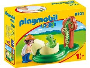 PLAYMOBIL® 9121 Dinosauří vejce (1.2.3)