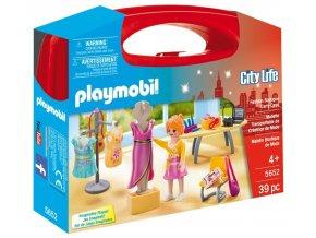 PLAYMOBIL® 5652 Přenosný kufřík Prodavačka v butiku