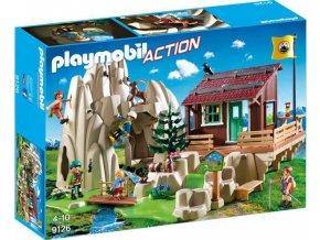 PLAYMOBIL® 9126 Horolezecká stěna s horskou chatou